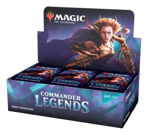 "MTG - Draft Booster Box ""Commander Legends"""