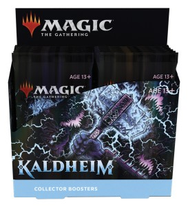 "MTG - Collector Booster Box ""Kaldheim"""