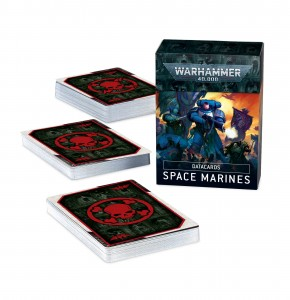 Datacards: Space Marines (EN)